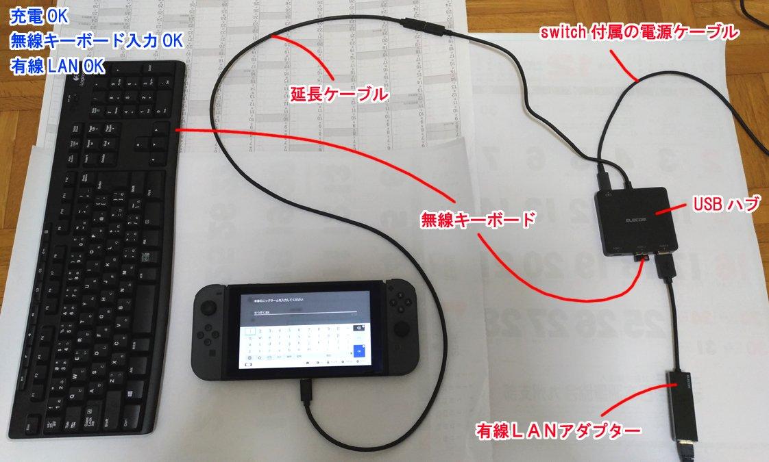 スイッチ 携帯 モード