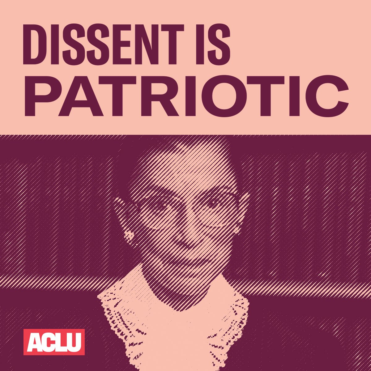 To everyone who plans to exercise their First Amendment rights in a Women's March today— dissent is patriotic and we at the ACLU march with you.