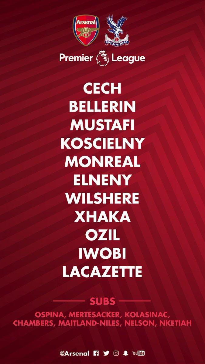 Arsenal FC's photo on #AFCvCPFC