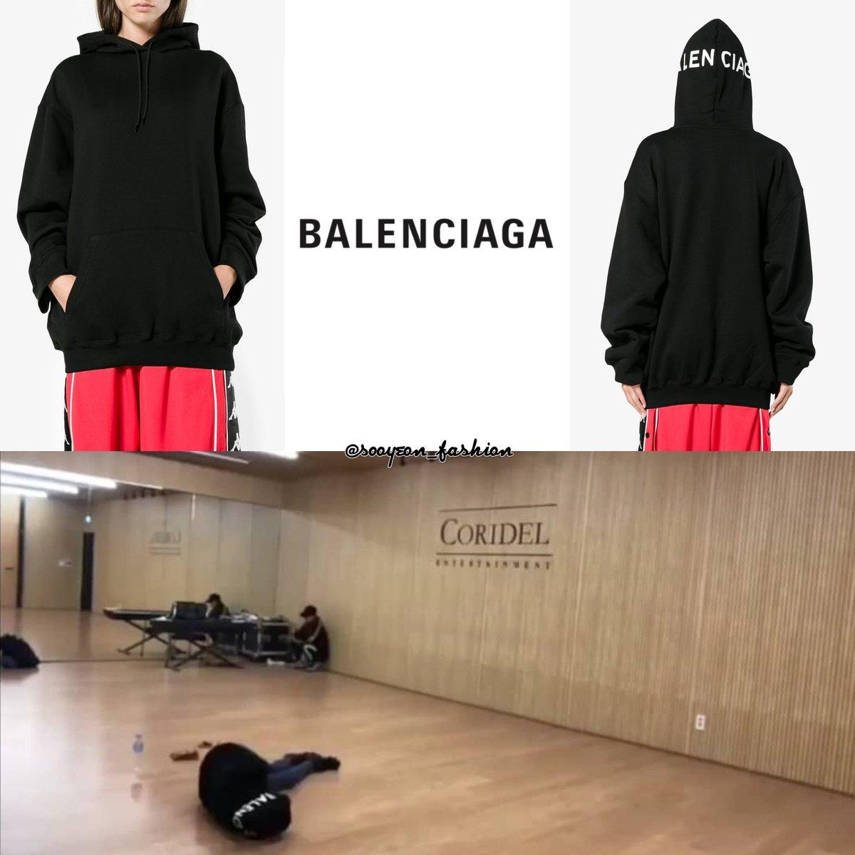 balenciaga hoodie womens 2018