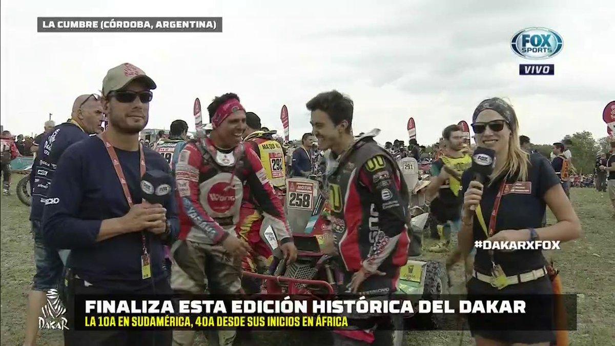 #DakarxFOX   Ignacio Casale, campeón en...
