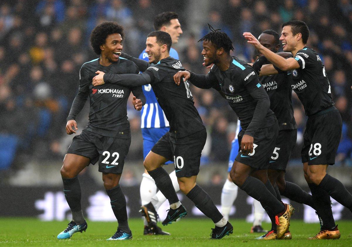 Full-time: Brighton 0-4 Chelsea!!   The...