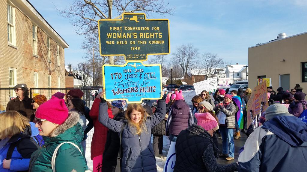 Police: Expect delays in Seneca Falls as 'Women March' takes place Saturday