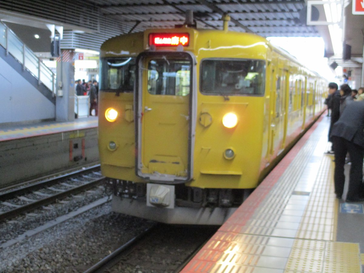 RT @akka1b353: 115系 #山陽本線 #福塩線 #JR #JR西日本 #電車 https://t.co/kpHq7ckPB5