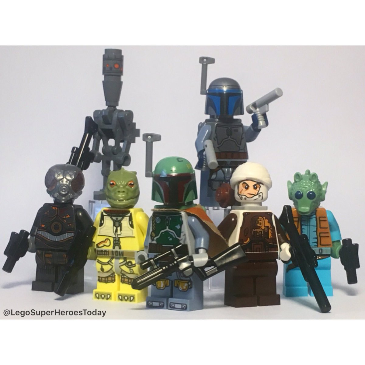 Minisuperheroestoday On Twitter The Bounty Hunters