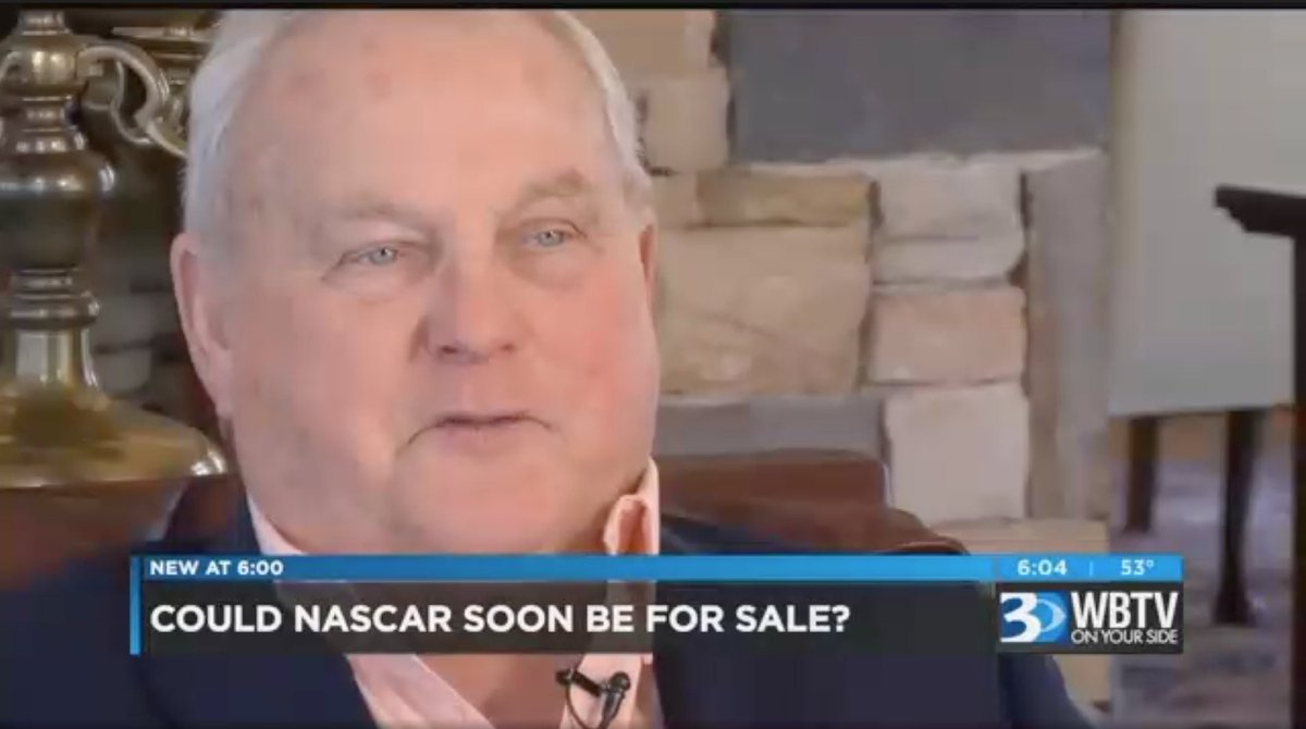 Adam Stern On Twitter Charlotte Based Wbtv Cbss Stevecrumpwbtv The Marriage Merger A Thatd Attract Buyer Of Nascar Says Not For Sale