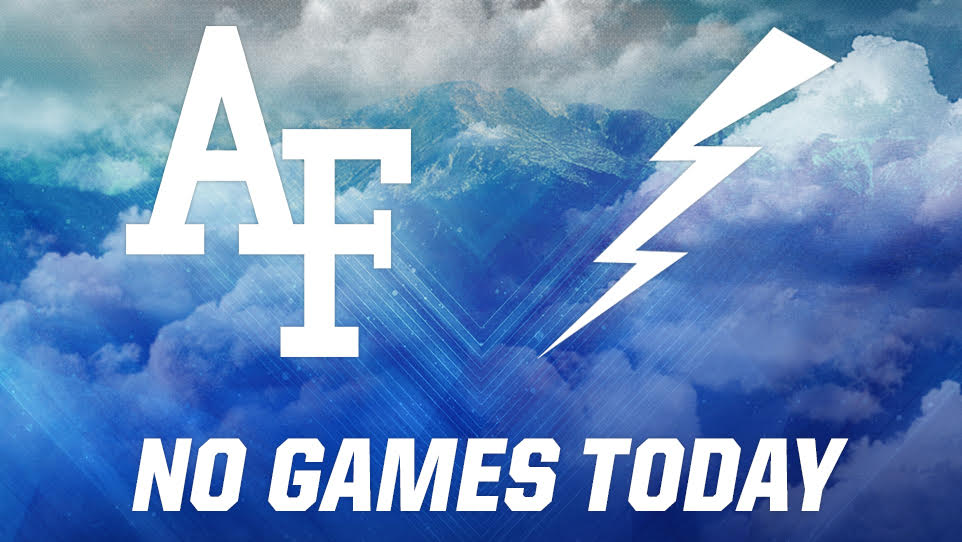 Air Force cancels all sports games through federal government shutdown
