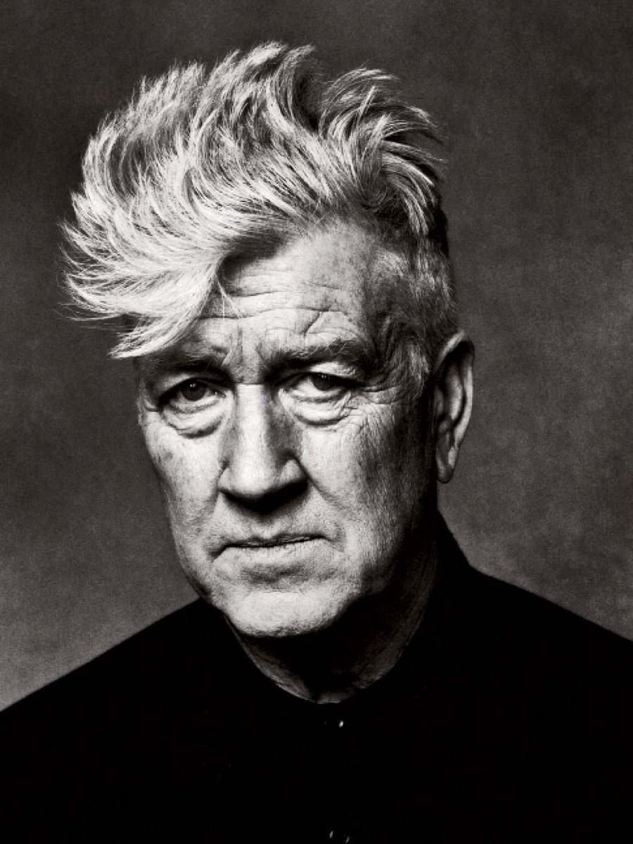 Joyeux anniversaire à David Lynch, 72 ans aujourd'hui 🎂  📷 Helmut Newton
