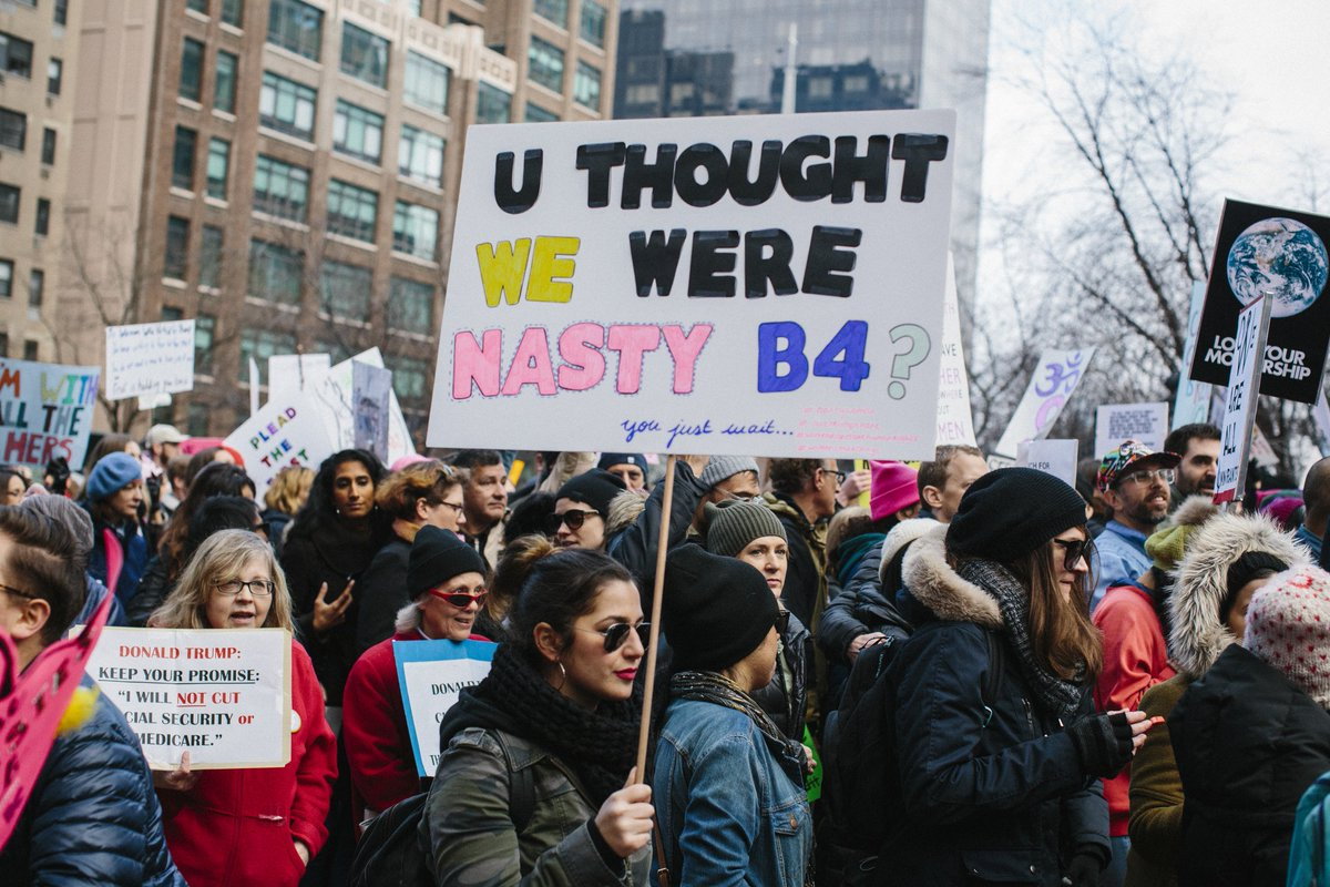 6 seriously inspiring feminist quotes for your 2018 Women's March sign https://t.co/ENtCzIeSJc