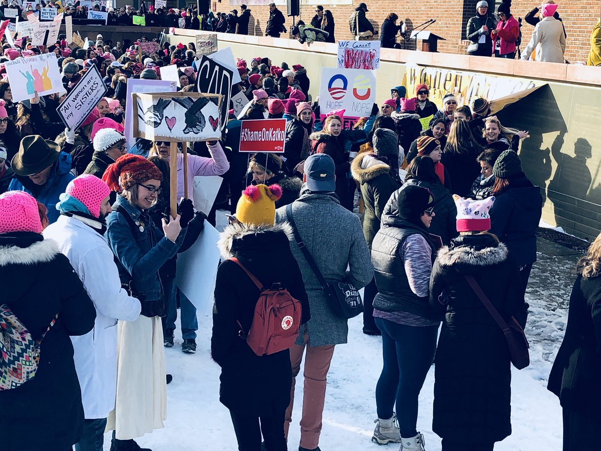 RANGE OF REASONS: Thousands march toward gender equality in Seneca Falls