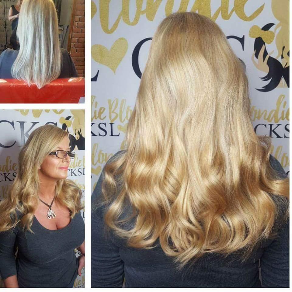 Blondie Locks On Twitter Tape Hair Full Head Blondielocks