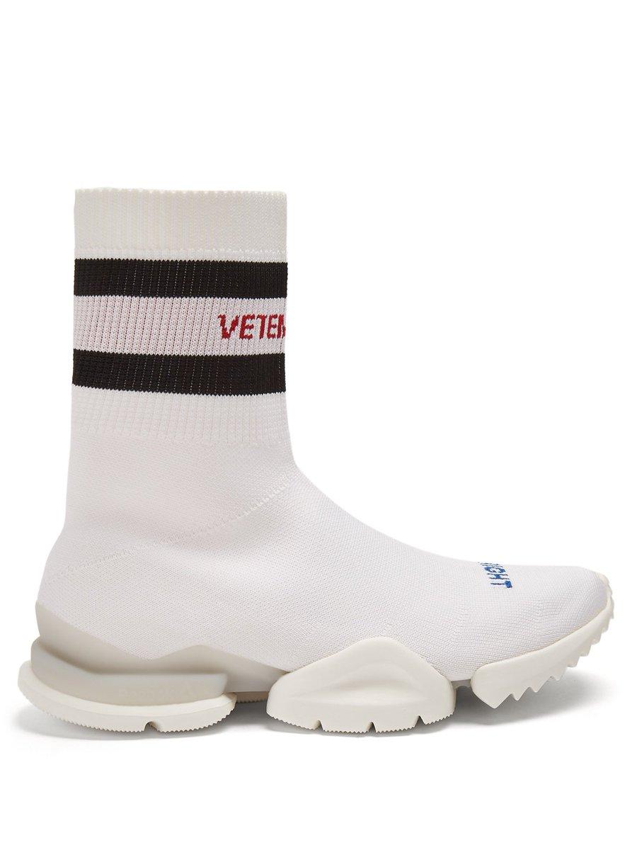 x reebok high-top sock trainers