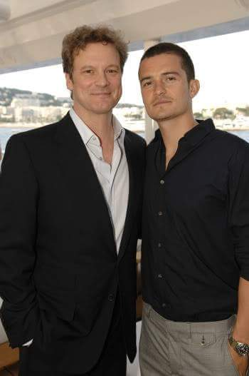 "COLIN FIRTH ADDICTED HAPPY BIRTHDAY ""ORLANDO BLOOM\"" ^^"