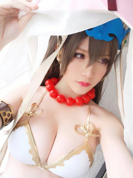 コスプレイヤー前羽_rrのTwitter自撮りエロ画像10