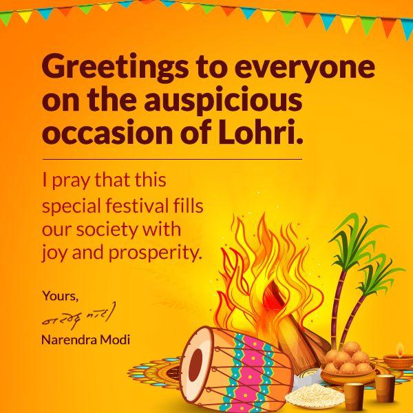 #Lohri Latest News Trends Updates Images - narendramodi