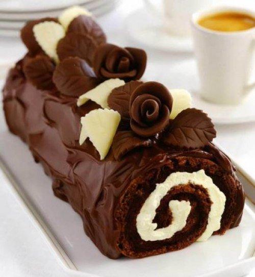 Рецепт шоколадно бананового торта