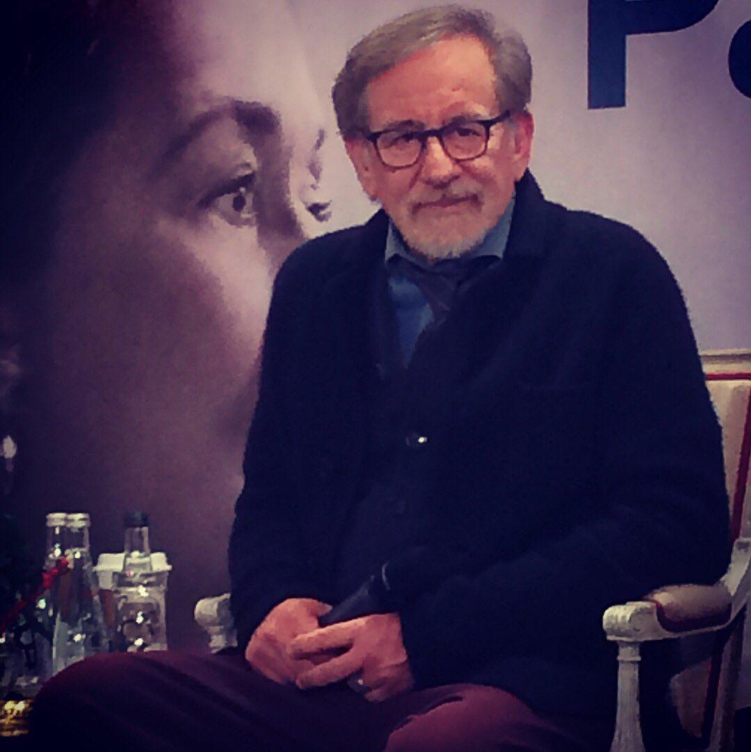 Steven Spielberg à Paris pour présenter Pentagon Papers