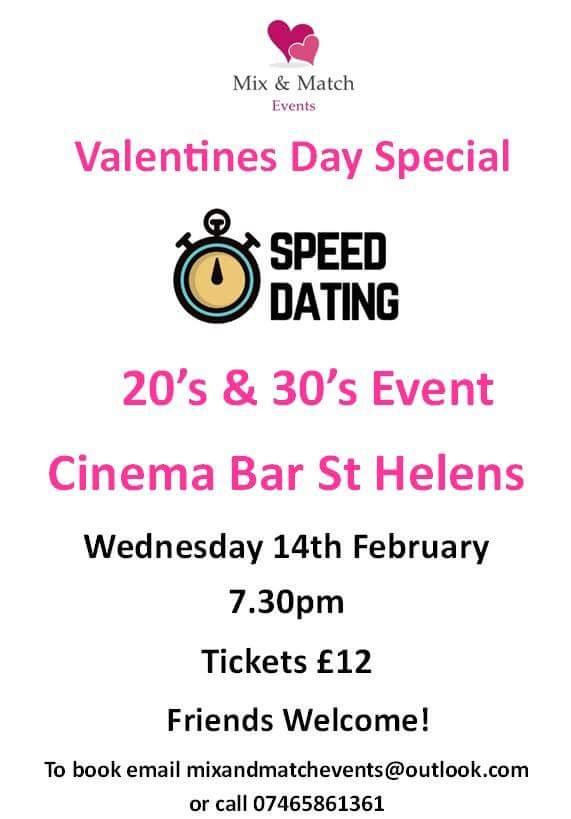 Speed Dating St Helens Merseyside rencontres ingénieurs site