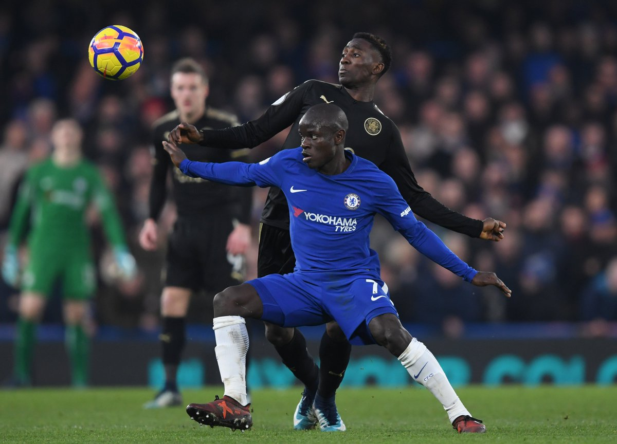 RT @ChelseaFC: Full-time: Chelsea 0-0 Leicester.  The points are shared this afternoon. #CHELEI https://t.co/gbidBf0Rlx