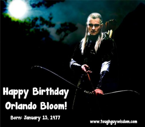 Happy 41st Birthday to Orlando Bloom!