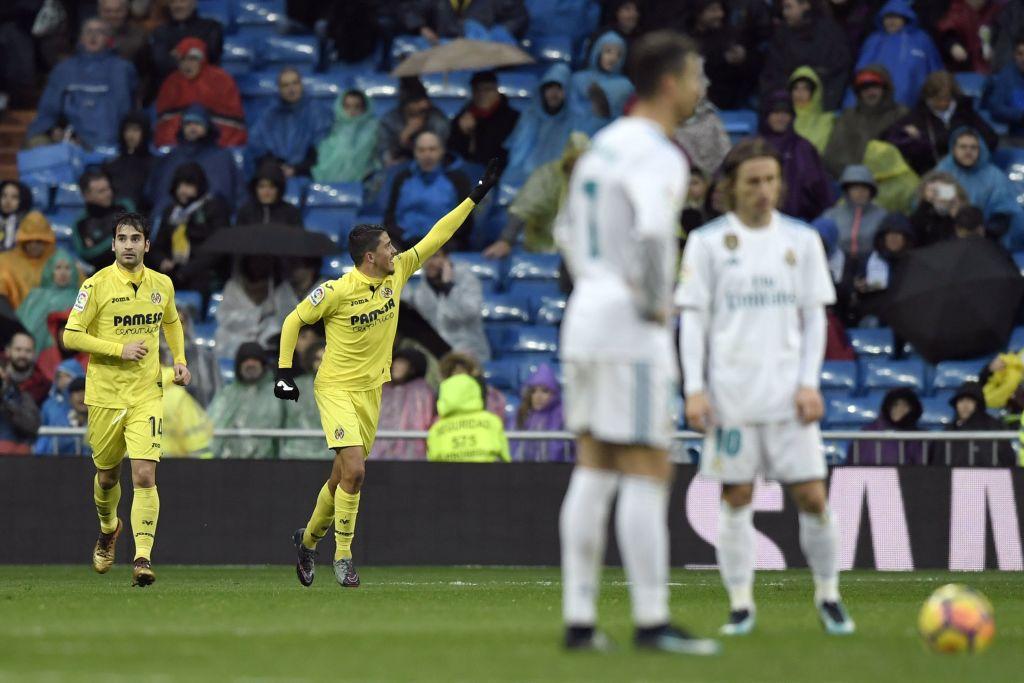 شاهد | هدف فياريال في شباك ريال مدريد