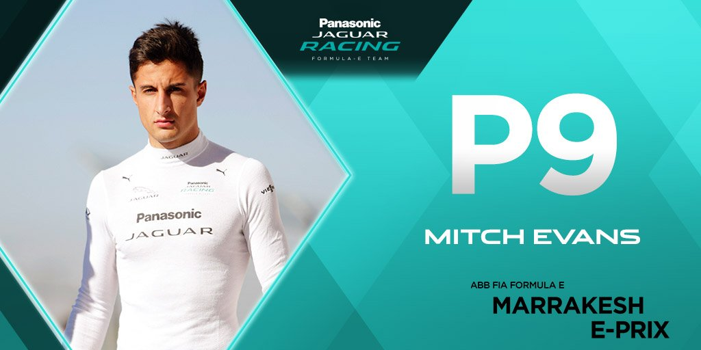 Jaguar Racing On Twitter Results Are In From Qualifying With Mitchevans_ In P9 Marrakesheprix