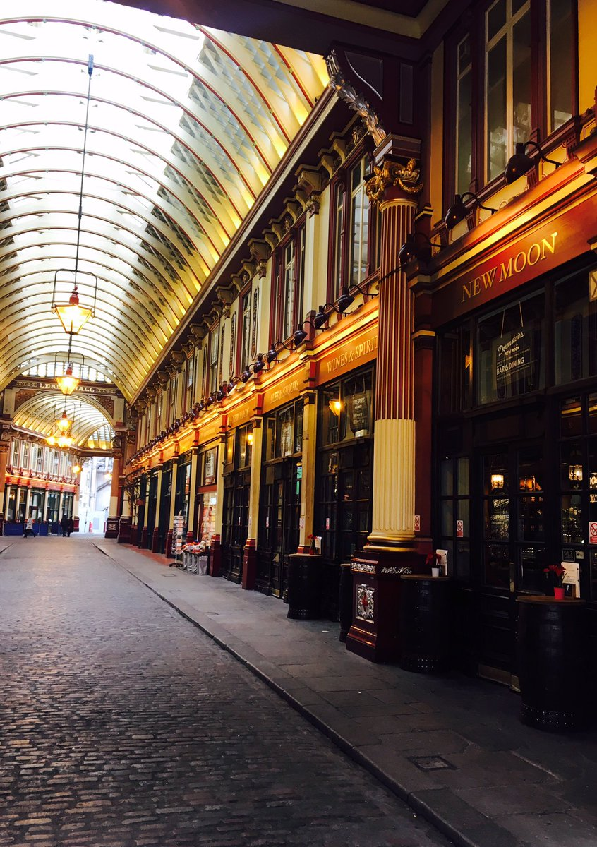 The new moon leadenhall market