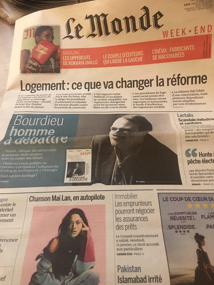 Le Monde apre con il dibattito sul socio...