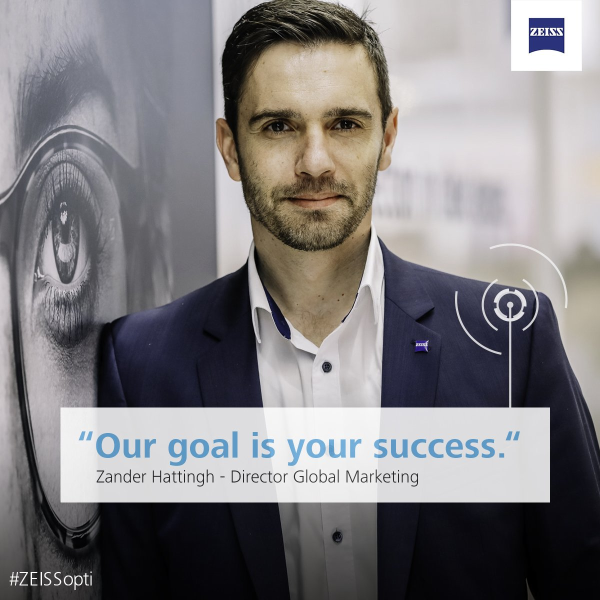 They're passionate about supporting your business with high-quality  products, the best tools, and expert advice. #Opti #ZEISSopti #promise  #support ...