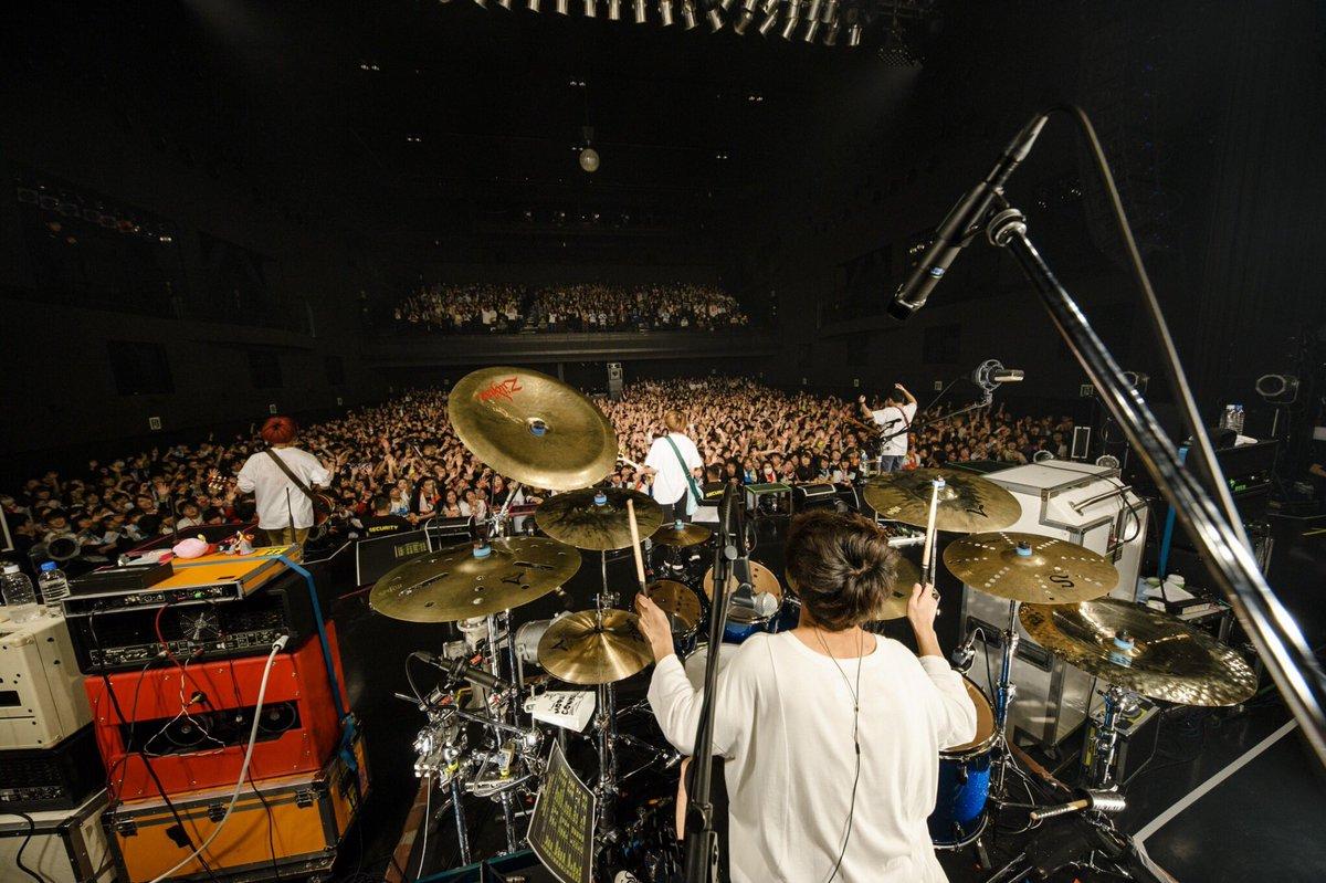 大阪1日目ありがとうございました! 2daysってのが初めてだからどーなるんかなーって思ったけど全く…