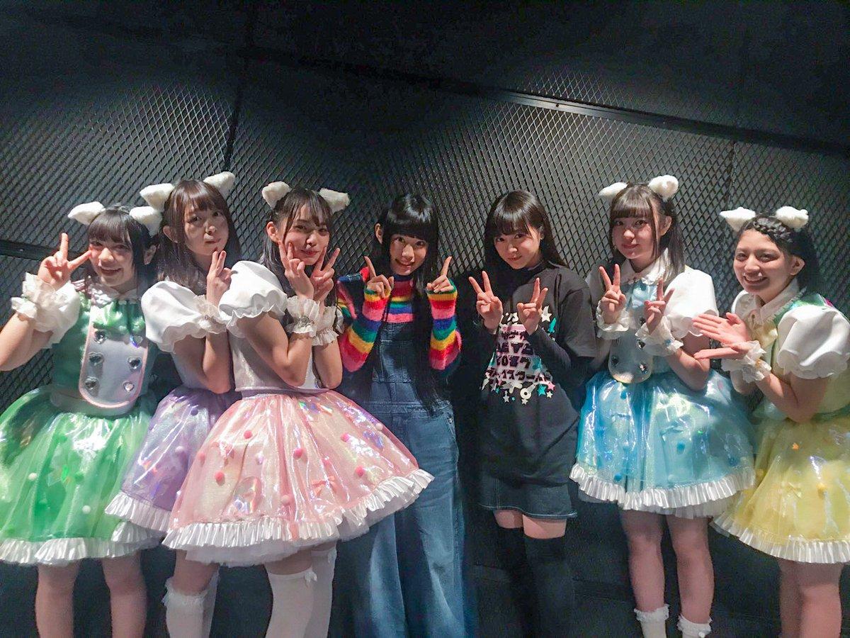 パラドックスツアーファイナルに、 私立恵比寿中学の莉子ちゃんと ぁぃぁぃさんが来てくれていました~~…