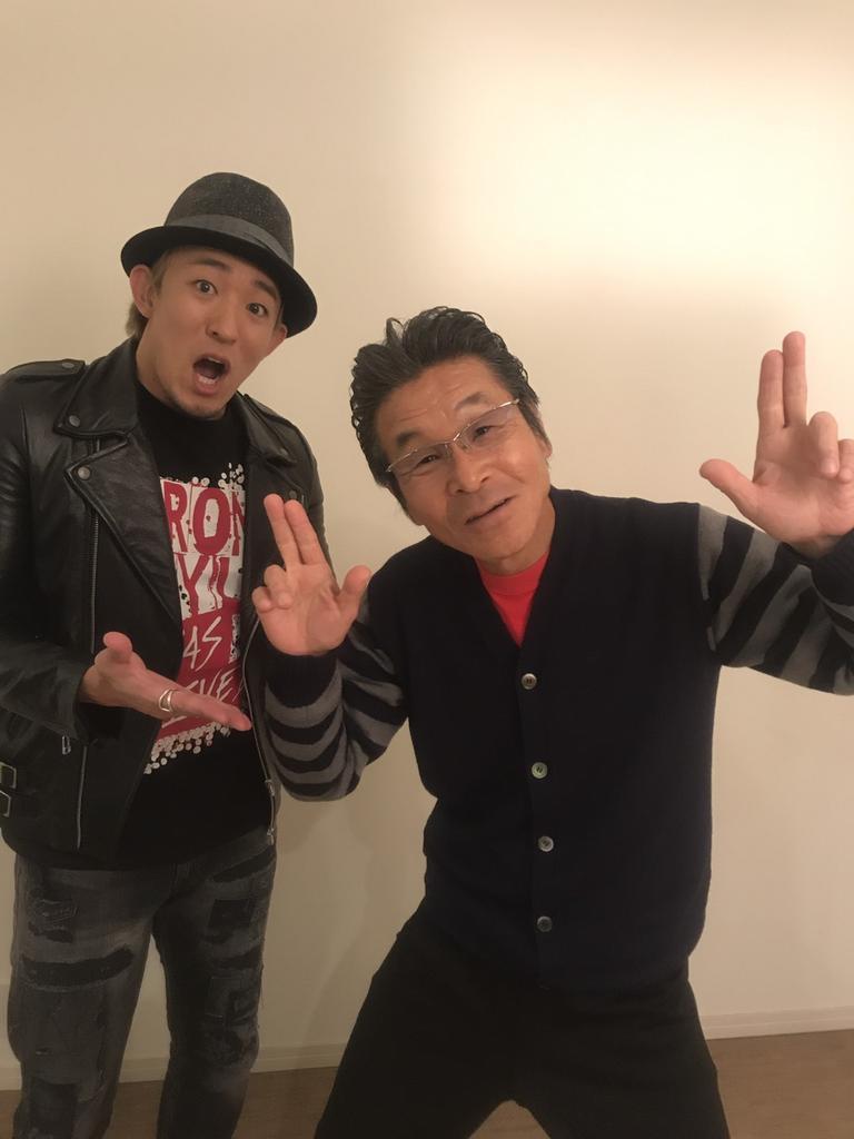 3月4日の淀川寛平マラソンにファンキー加藤が参加してくれます、今日その事で取材でした、吉本若手芸人達…