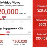 Great Tool to Calculate Potential #YouTube Earnings #socialmediamarketing https://t.co/RbkTPlWAdZ