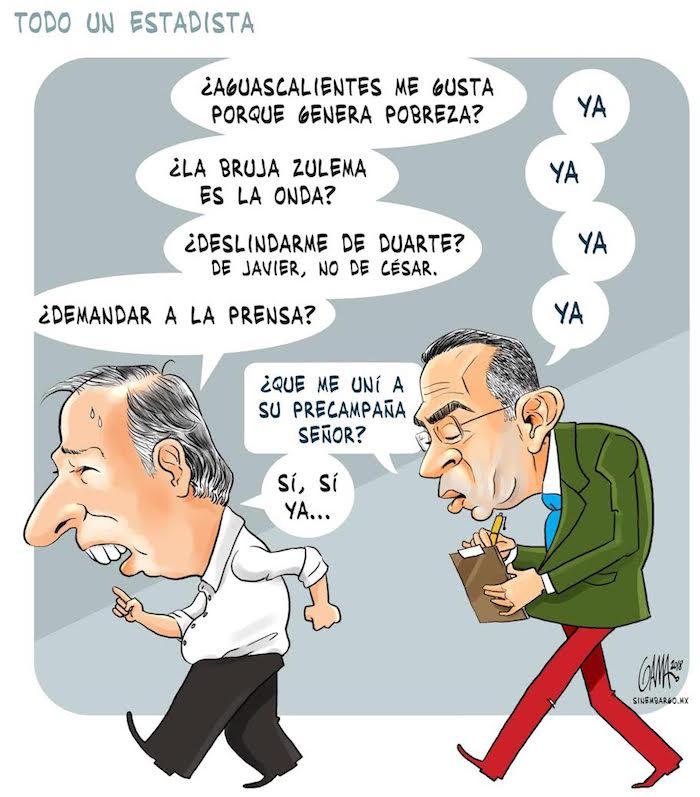RT @SinEmbargoMX: #Opinión Cartón | Todo un estadista, por @MoneroGAMA https://t.co/hfqqqcW6bo https://t.co/TBNsd9mHSl
