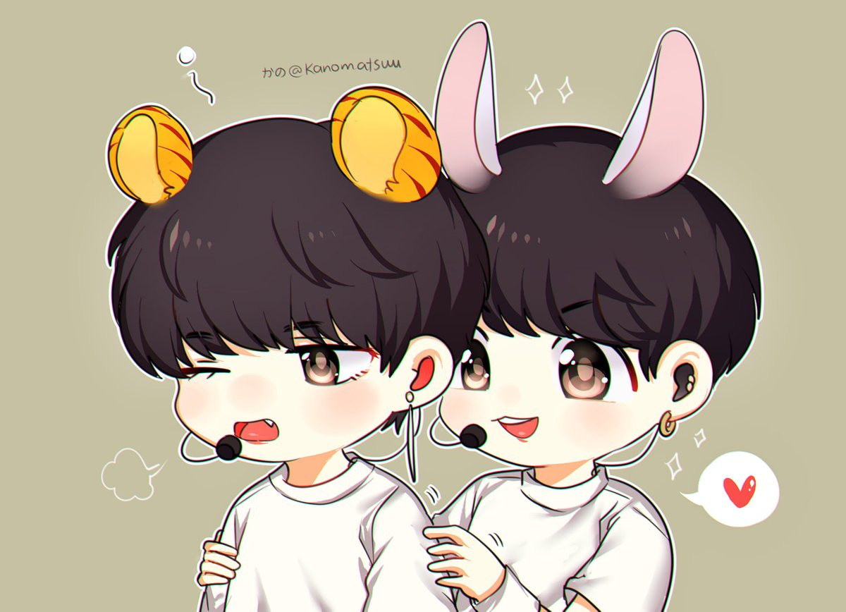 🐰🐯✨ - Do not repost or using my artwork...