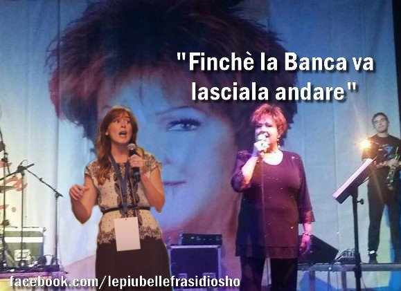 RT @lefrasidiosho: E lei che vi aveva anche dedicato una canzone. Ingrati.. #OriettaBerti https://t.co/WXVjGoYvUf