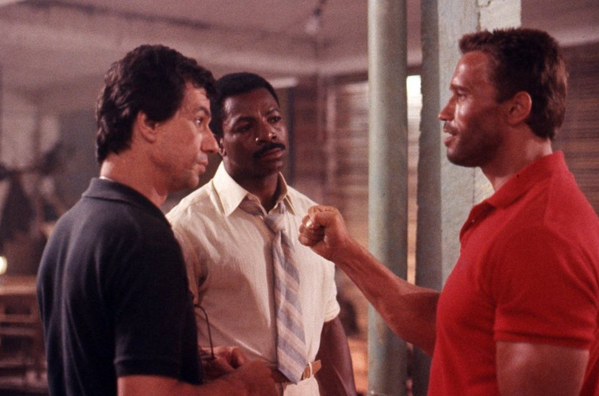 The Arnold Fans On Twitter The Director Of Predator Suggest How