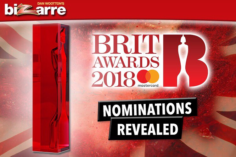 Get ready! This year's #BRITs nominations are about to be revealed. Who do you want to see up for a gong? https://t.co/12sPMc9BlQ