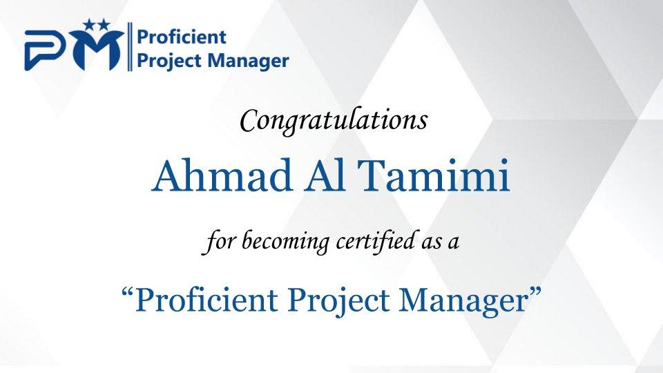 Ammar Mango On Twitter Congratulations Ahmad Al Tamimimbapmp