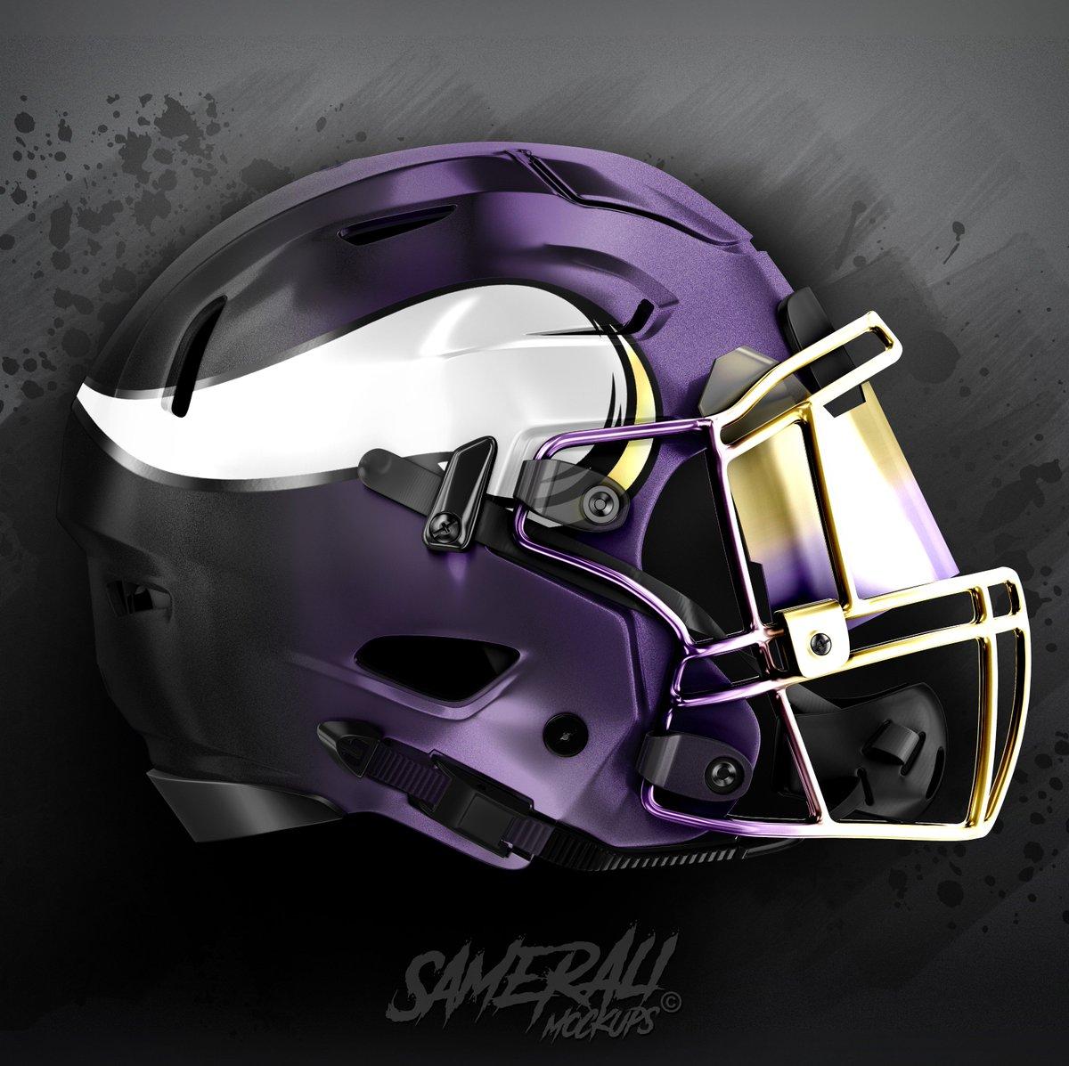 Designconcept Bleacherreport Footballhelmets Minnesota MinnesotaVikings Vikings SKOL SkolVikes NFL Pictwitter IJ3F5vNgye