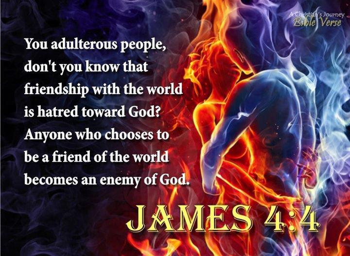 A Friend Of The World Is Enemy God Do Ye Think That Scripture Saith In Vain Spirit Dwelleth Us Lust To