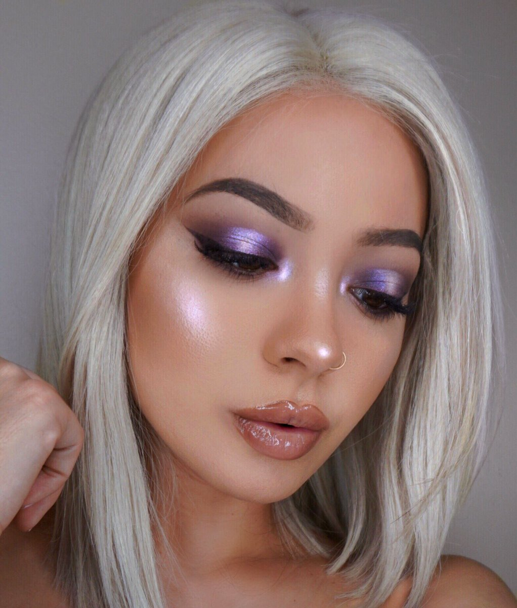 Ultra Violet Glow �� @maryliascott | Spend $50, get a FREE Youre a Gem or Feelin Fine Lip Trio! WEARING: Rocket Science Super Shock Highlight GRLFRN from Golden State of Mind palette