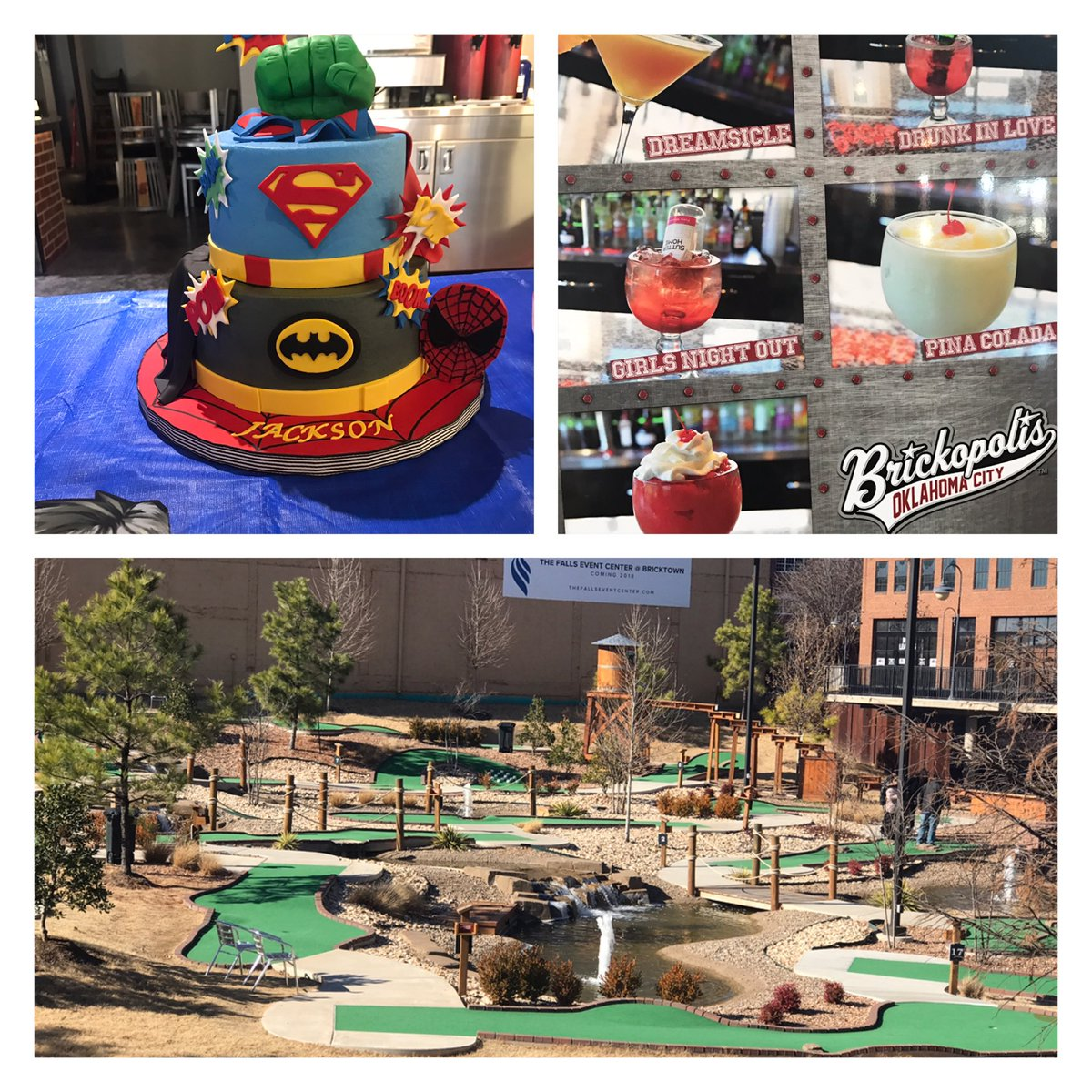 Brickopolis U On Twitter Birthday Parties Full Bar Mini Golf