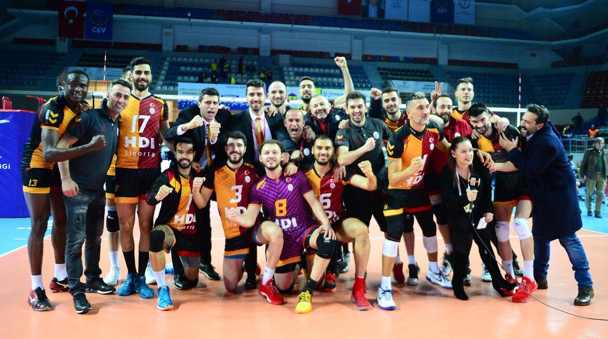 Erkek Voleybol: Fenerbahçe 2-3 Galatasaray HDI Sigorta