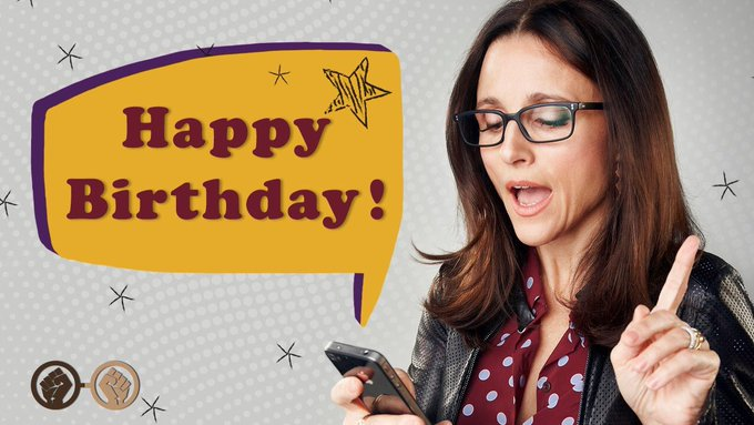 Happy Birthday, Julia Louis-Dreyfus! The legendary comedy actress turns 57 today!