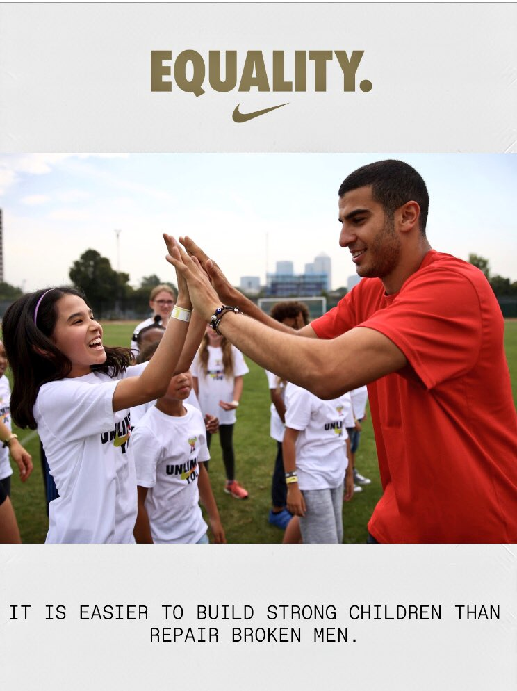 UNTIL WE ALL WIN #Equality #Nike https://t.co/WOyYPELG3e