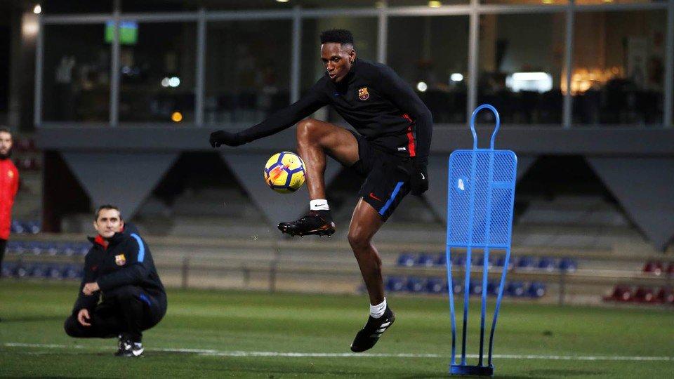 Міна провів перше тренування з Барселоною, але з Реал Сосьєдадом не зіграє - изображение 3