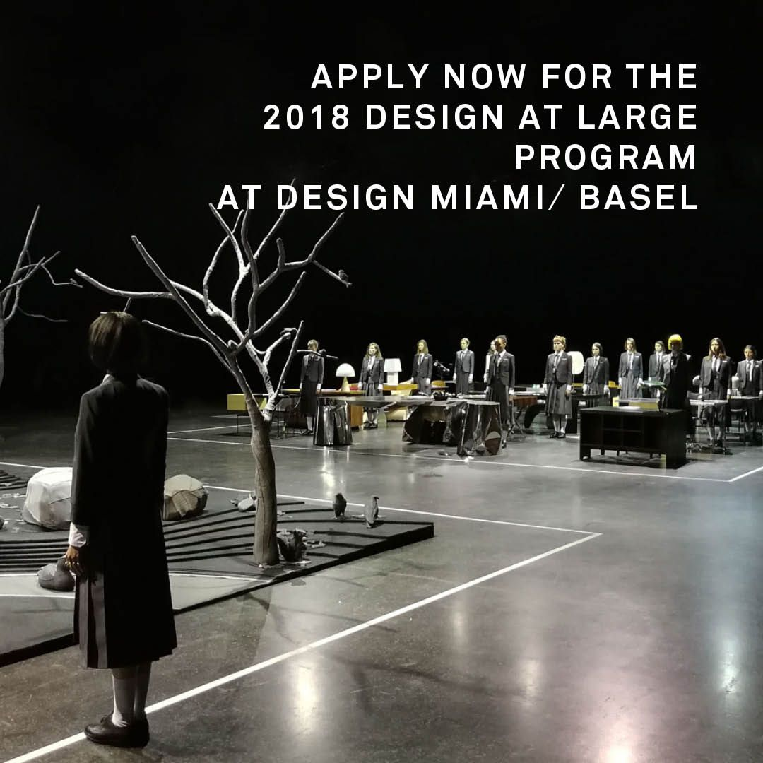 Don't miss out on the chance to apply for the 2018 Design at Large program in Basel.  Applications close on January 31. Click on the link here for more information and to apply. #DAL #Designmiamibasel  https:// buff.ly/2mxoXF3     <br>http://pic.twitter.com/yfNFzAiCn1