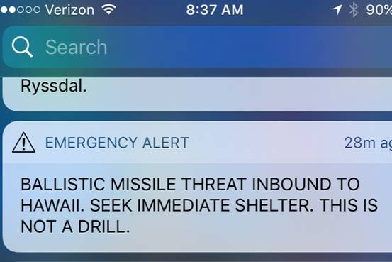 'I can't get over that it took them 40 minutes to send another phone alert to tell people there was no missile' https://t.co/rX1zbAf9to