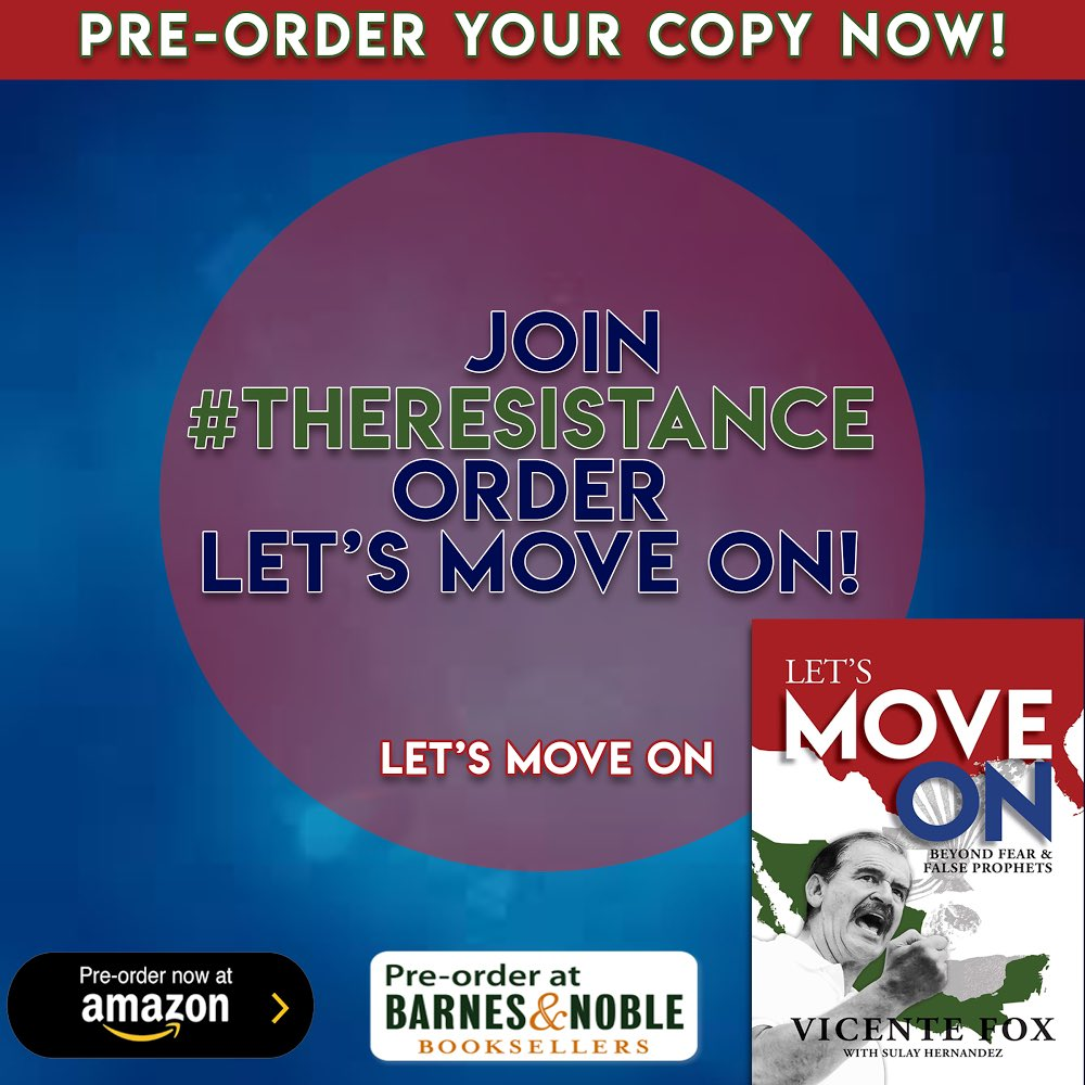 Last weekend to pre-order! Let's Move On beyond fears and false prophets.  I invite you to get yours in: https://t.co/UaXzJ4JFPP: https://t.co/RQowBhkqVI Barnes & Noble: https://t.co/klGFVhkCE2